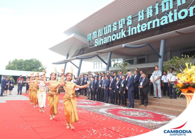 Расширение аэропорта Сиануквиля